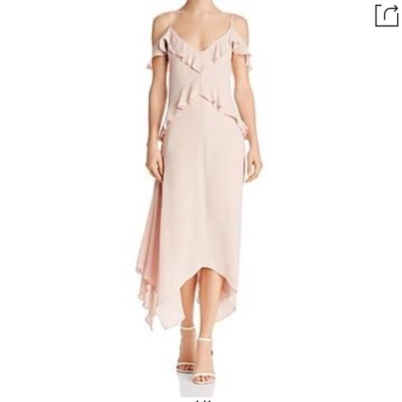 f39b2c93f8c4 BCBGMaxAzria Dresses | Bcbg Lissa Dress In Bare Pink | Poshmark